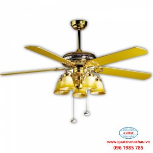 QUẠT TRẦN ĐÈN MOUNTAIN AIR 60YFA-1033 GOLDEN LUXURY
